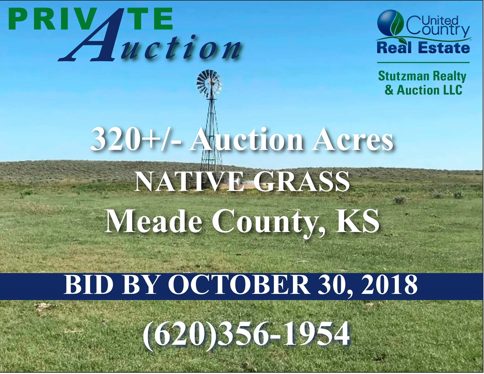 320  ACRES MEADE COUNTY, KS GRASS PASTURE