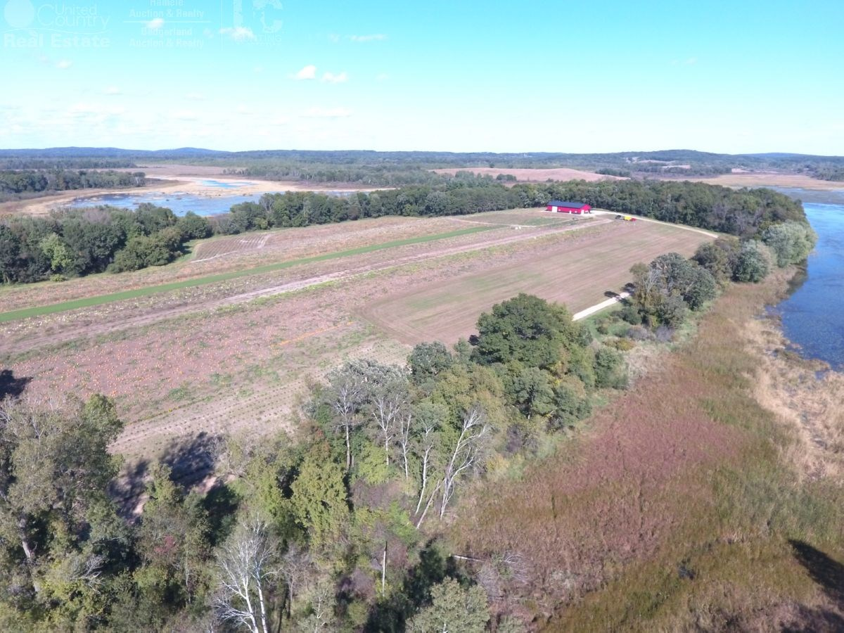 80 Acres of Columbia County Land with Water Frontage, Shed