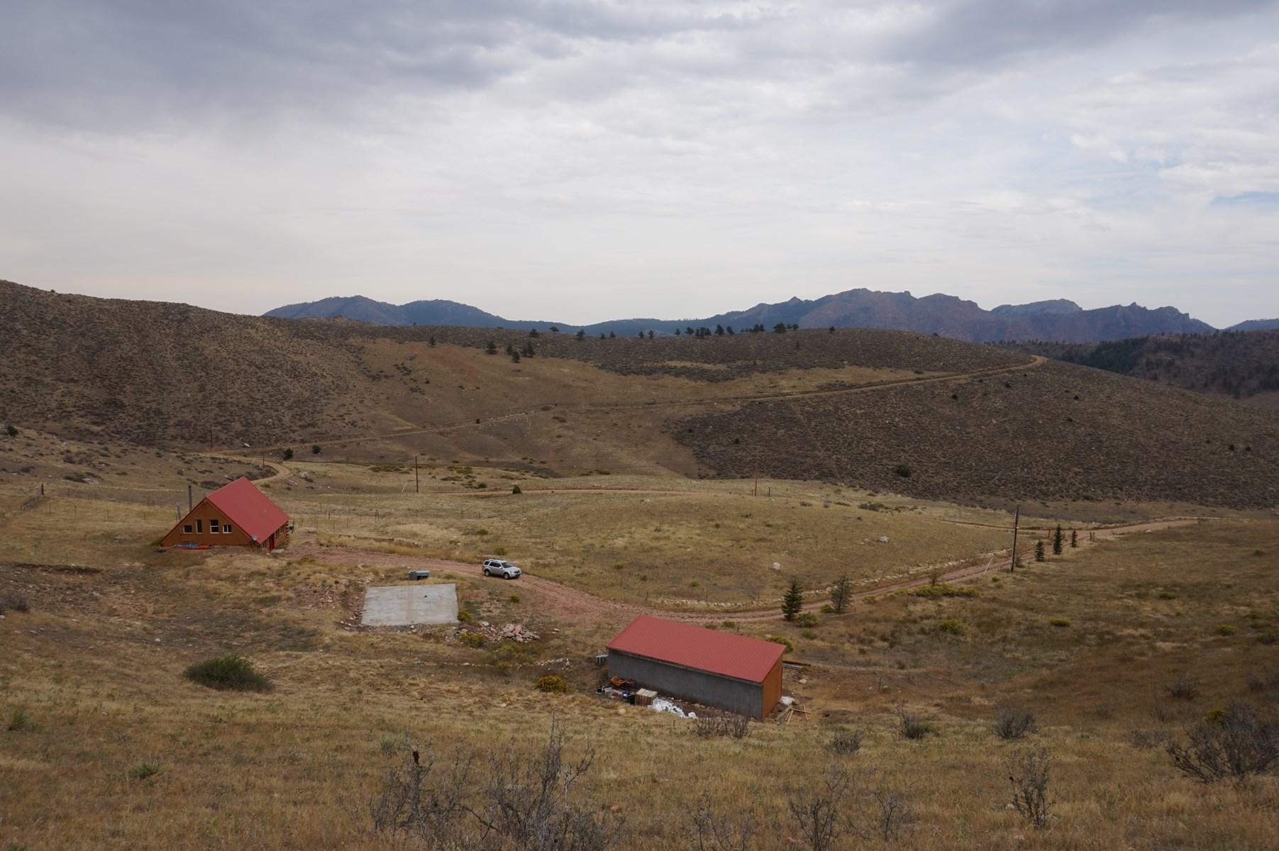 Country Mountain Horse Homes on Acreage For Sale Colorado