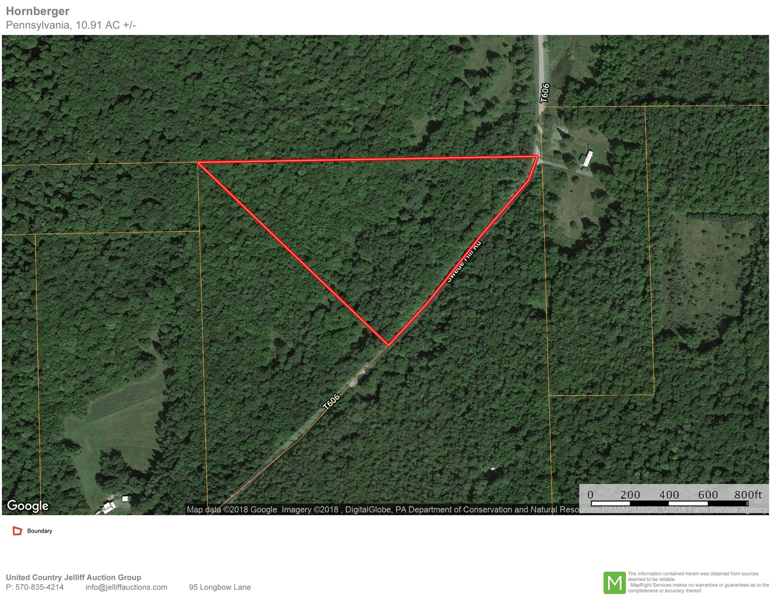 Country Land 10+ Acres for Sale in Tioga County, PA
