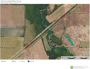 2 TRACTS FOR SALE IN CADDO MILLS, TEXAS (HWY 66)