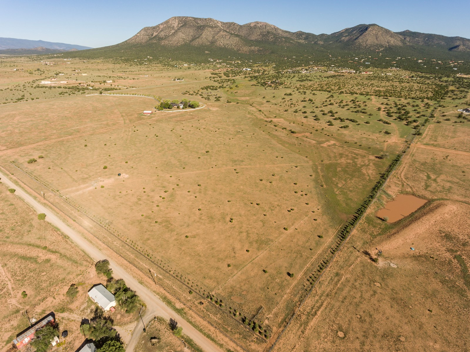 Santa Fe County NM Ranch Land For Sale Near Edgewood