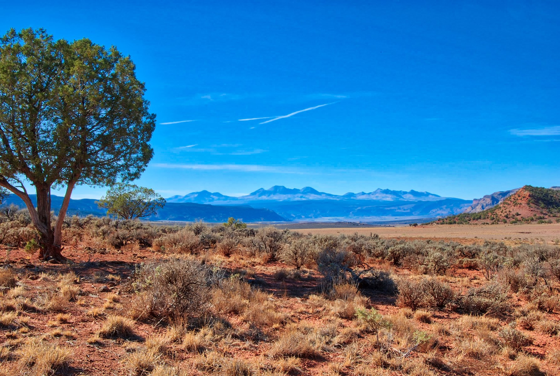 Mountain view property near Moab, Utah