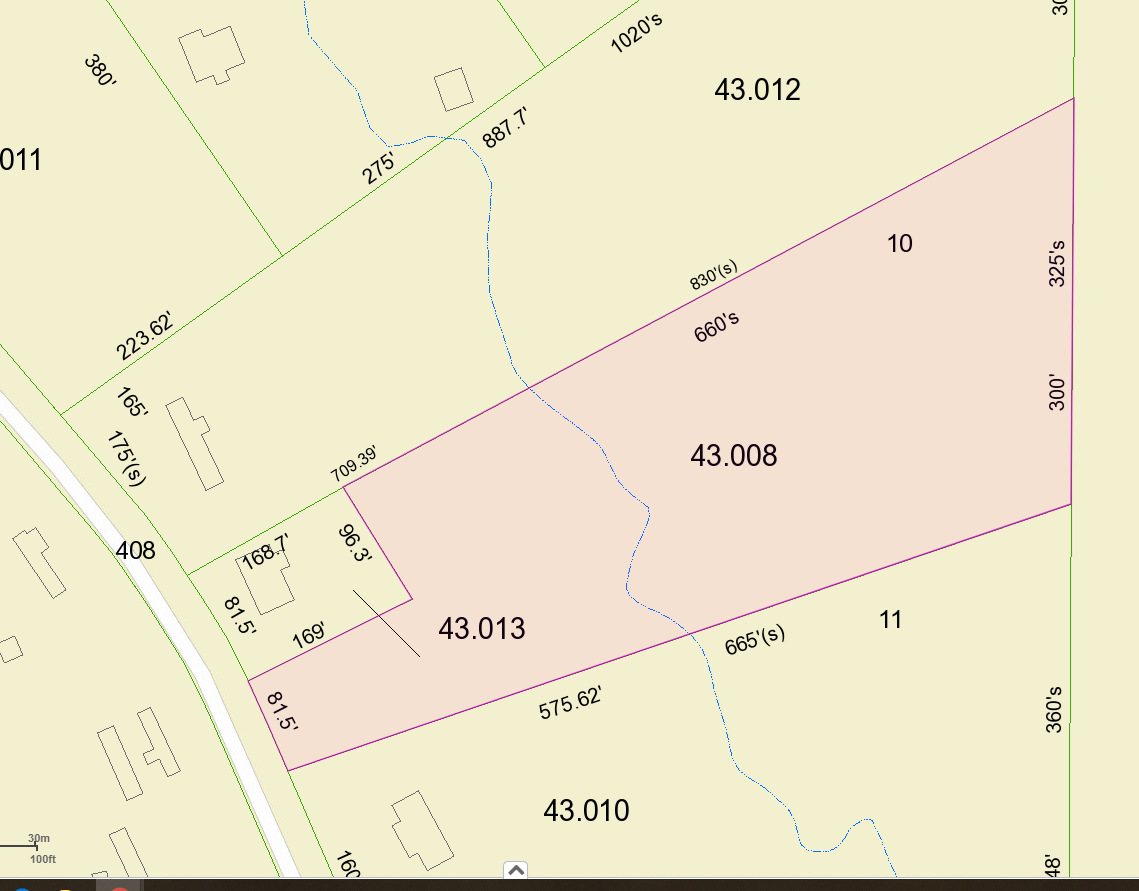 Land Auction- Tract #12 -3.3 Acres +/-