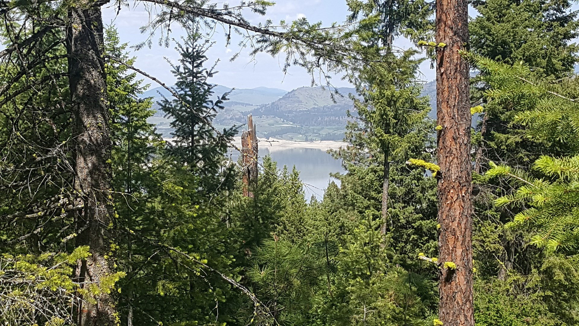 Fruitland, WA 3.72 Ac Lot with View of Lake Roosevelt