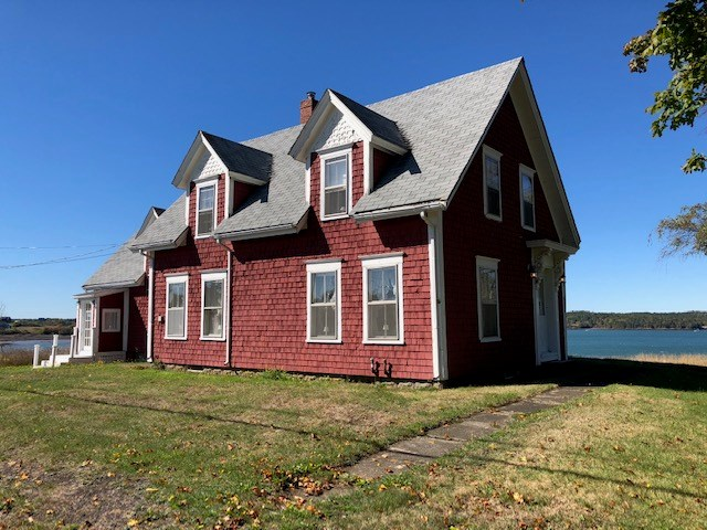 Historic home for sale in Lubec, Maine