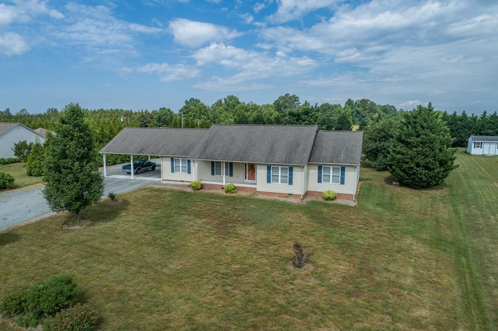 Reduced Open Floor Plan Rancher In South Boston, VA