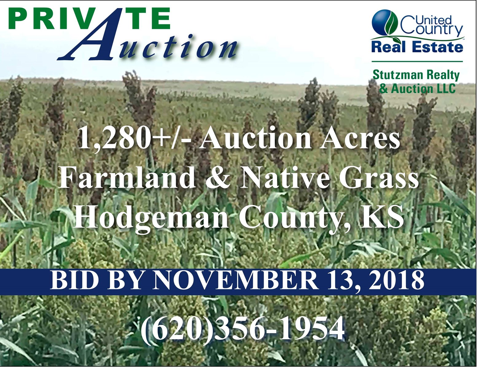 1,280 FARMLAND & NATIVE GRASS IN HODGEMAN CO., KS