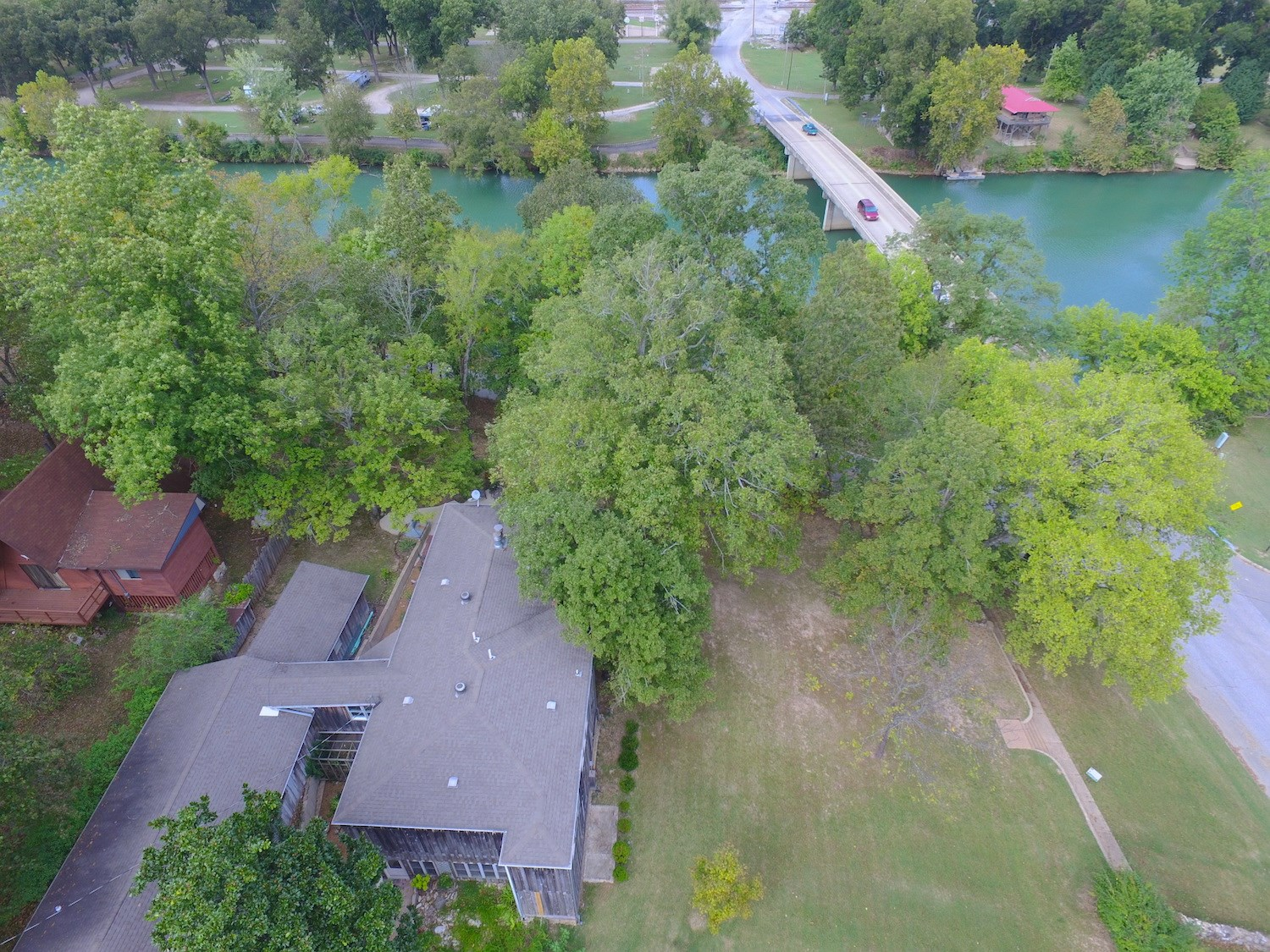 Spring River Home for Sale in Hardy Arkansas