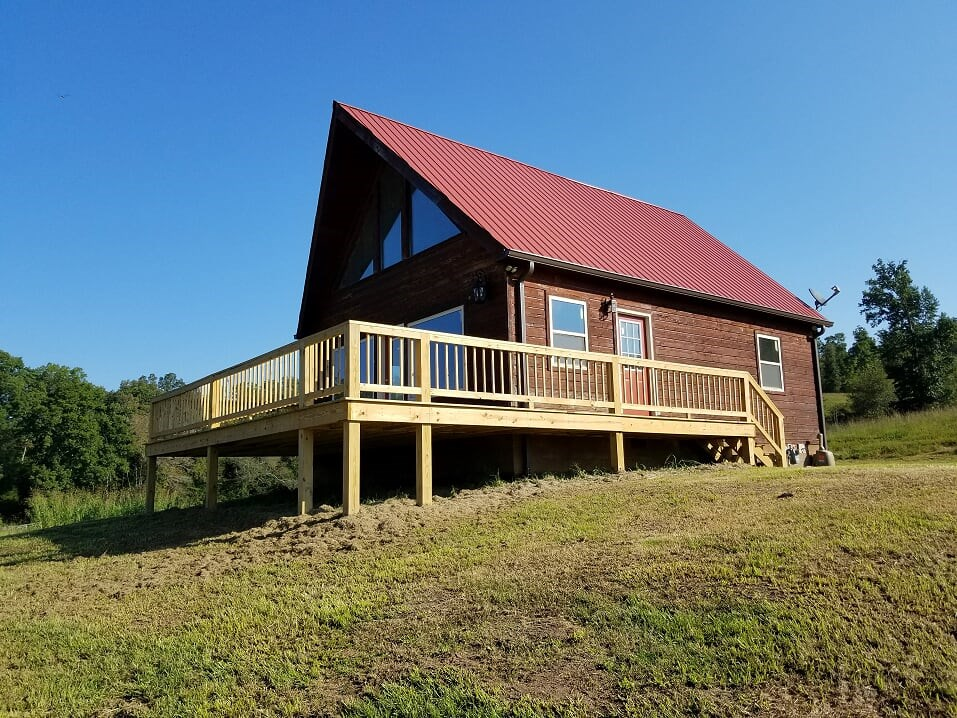 RIVER VIEW COUNTRY HOME CABIN ON 6.5 ACRES
