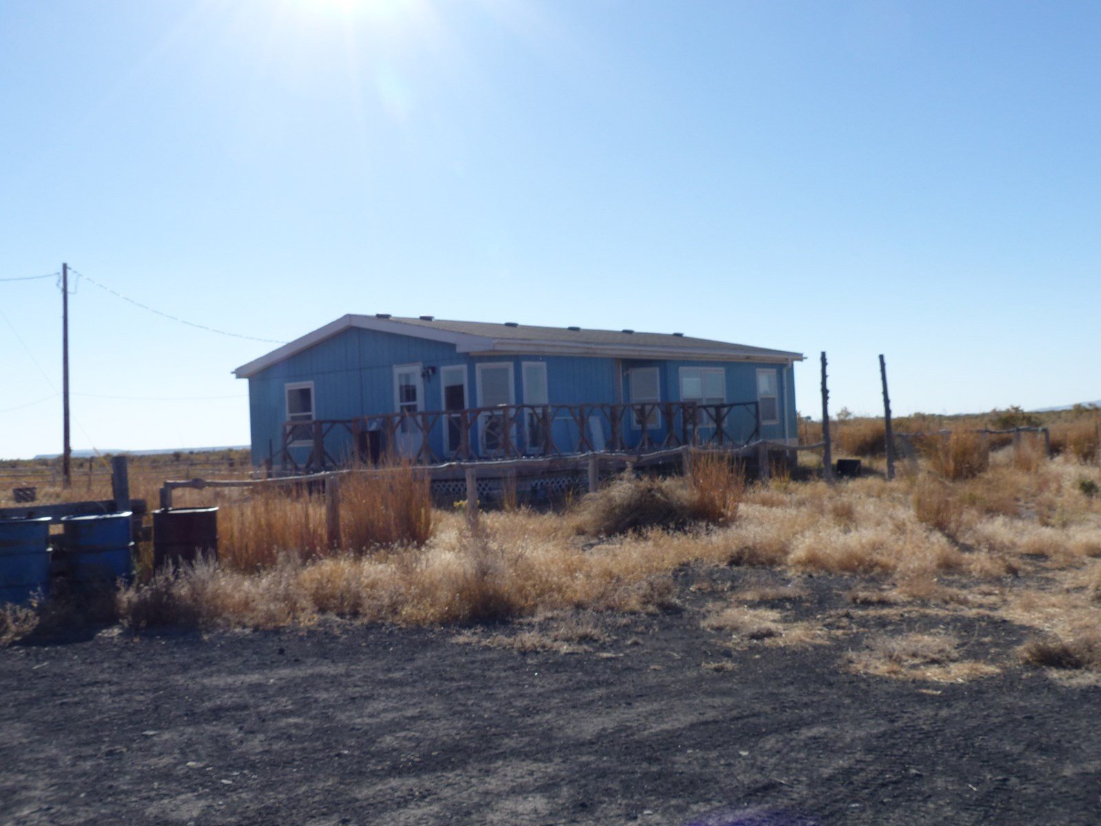 HOME ON 40 ACRES EAST OF BURNS OR