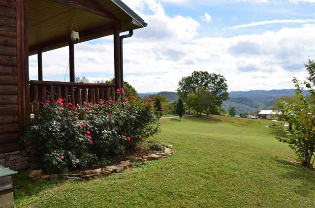 Log Style Home on 1.81 Acres in Sneedville, TN
