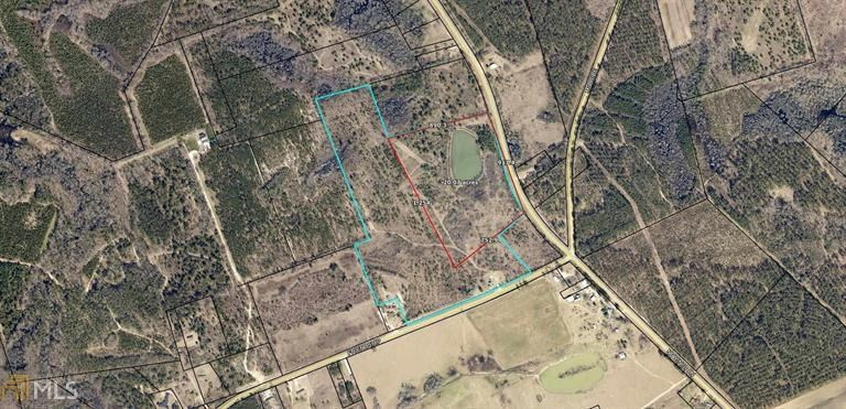 20 Acre Land Lot in Screven County, GA