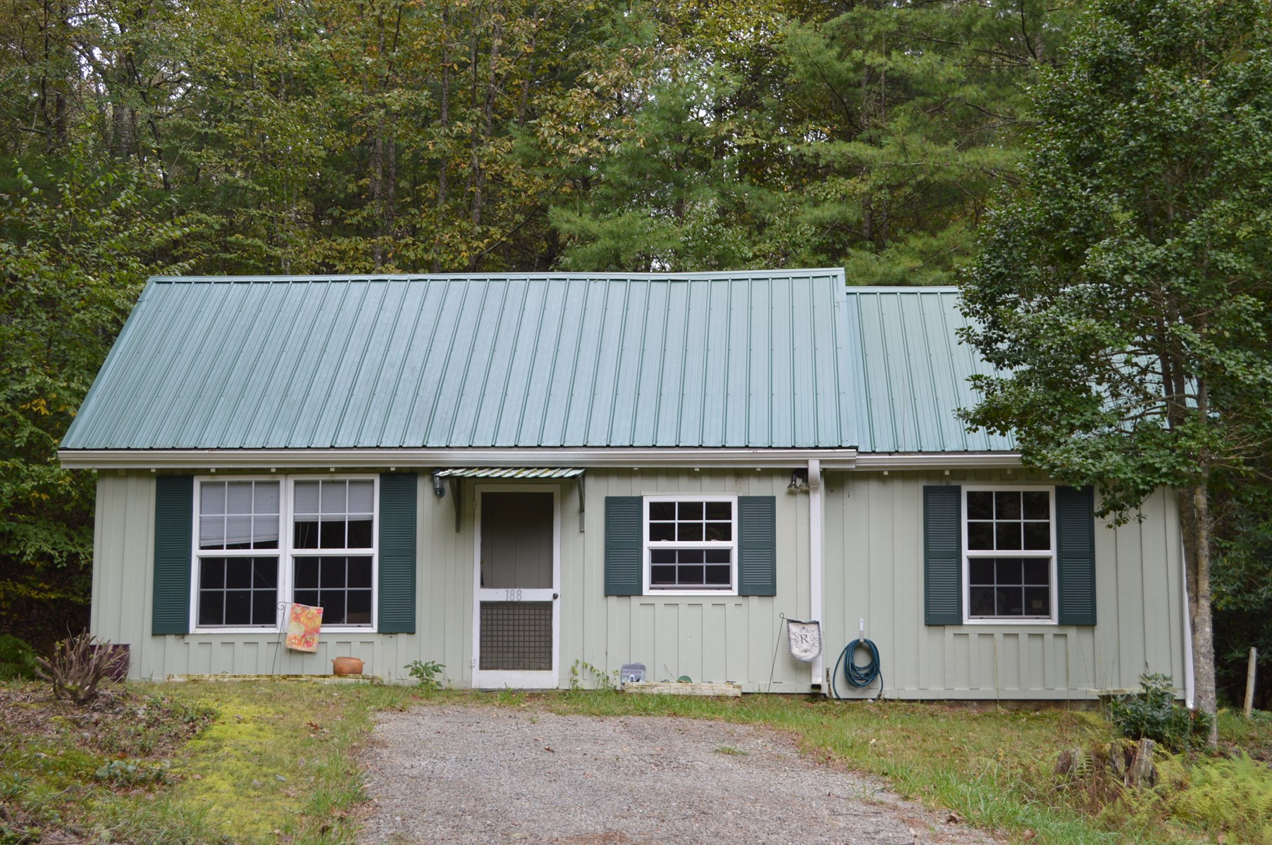 Quaint Mountain Cottage with a Pond in Alleghany County NC