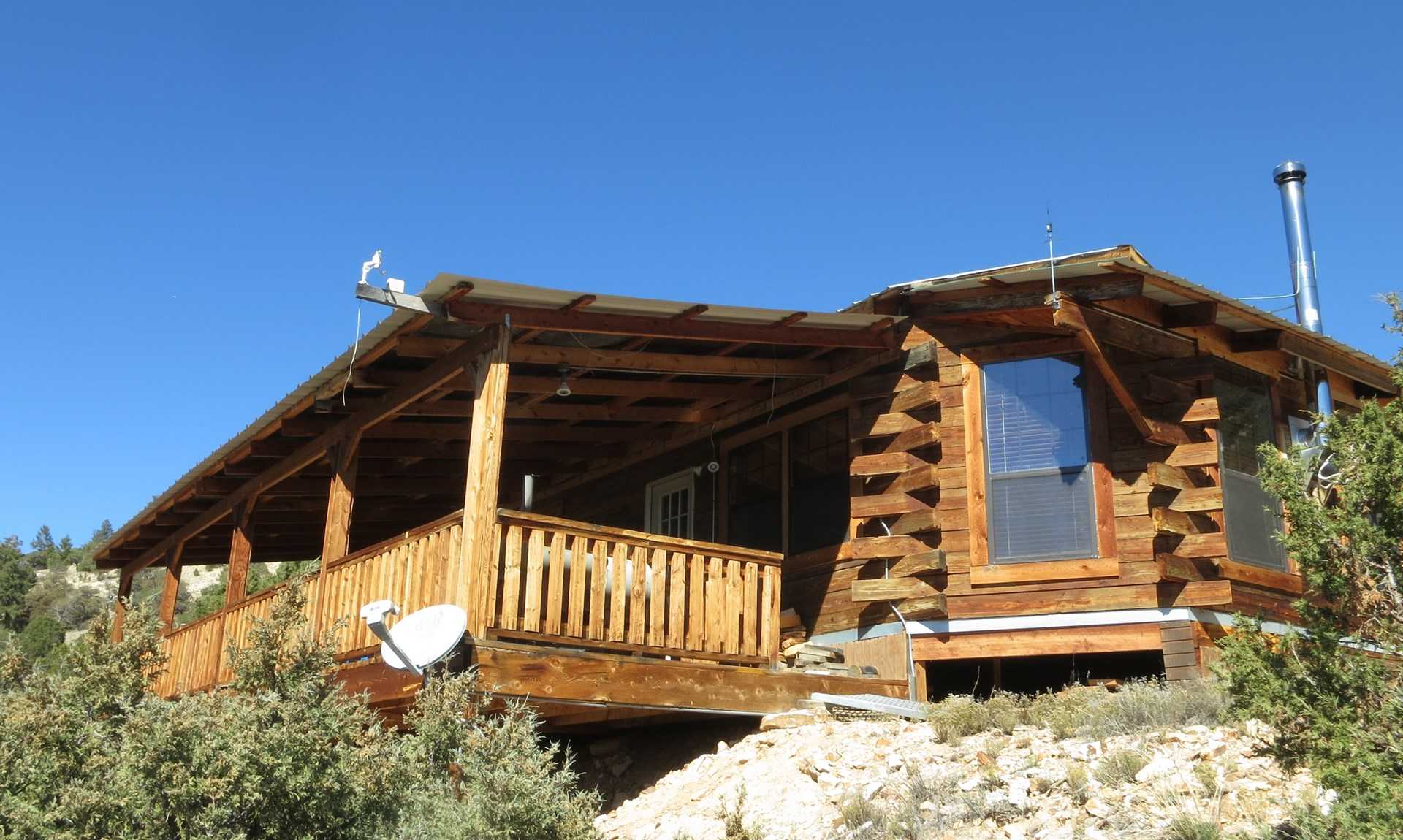 Colorado Mountain Hunting Off Grid Cabin National Forest