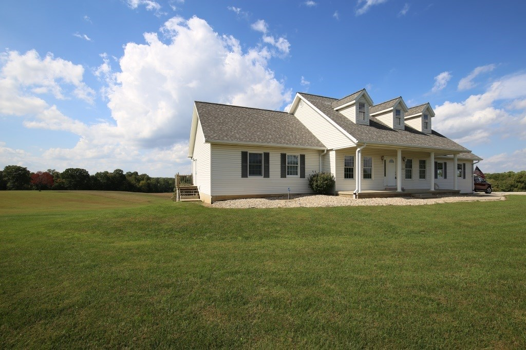 Greene County Indiana Country Home and Land for Sale