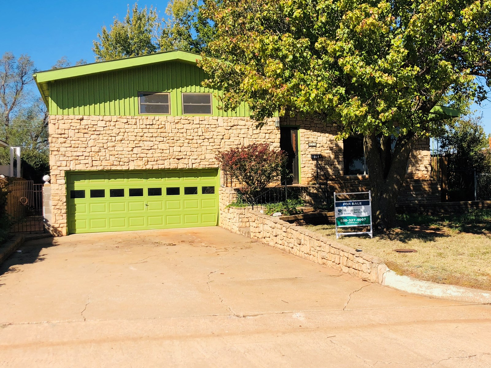 Split Level Home for Sale in Alva, OK (Woods Co)