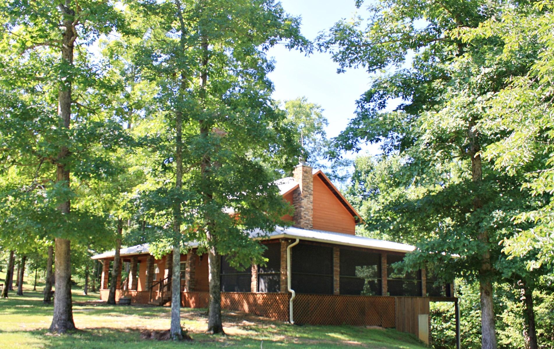 3 Bedroom 3 Bath Geothermal Home w/ Pond & Creek & 31.07 AC