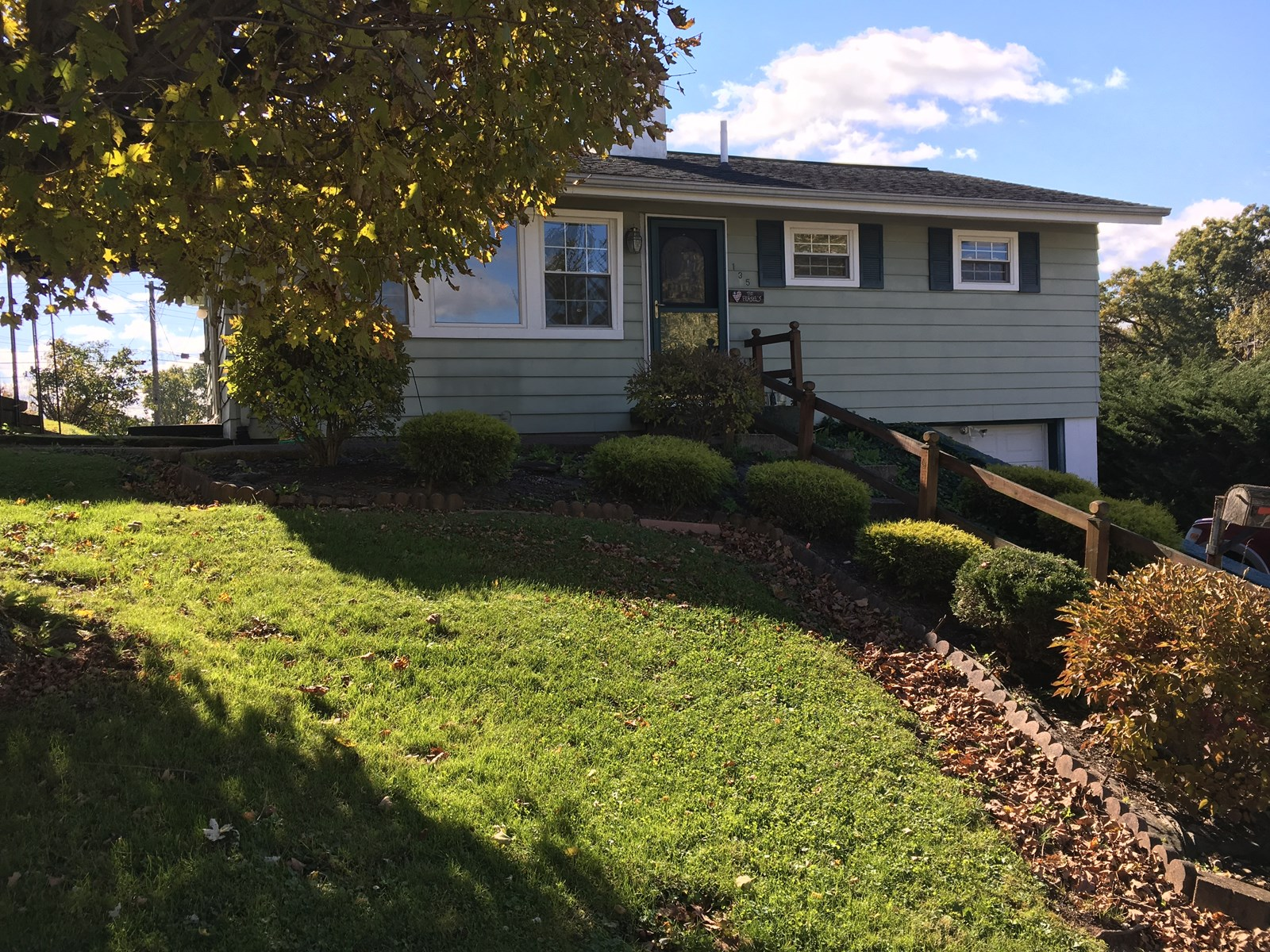 Woodsfield, OH Monroe County, Ranch home on basement