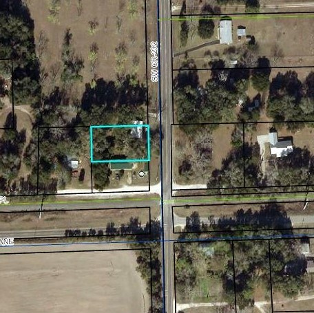 GREAT LOT - OFF PAVED ROAD - TRENTON,FLORIDA-GILCHRIST CO