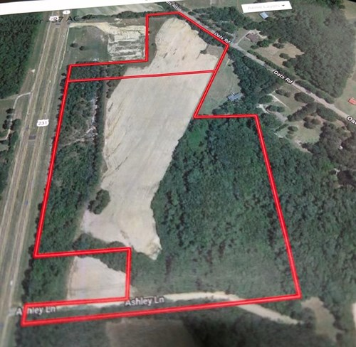 Land For Sale in Alabama's Houston County Near Dothan on Hwy