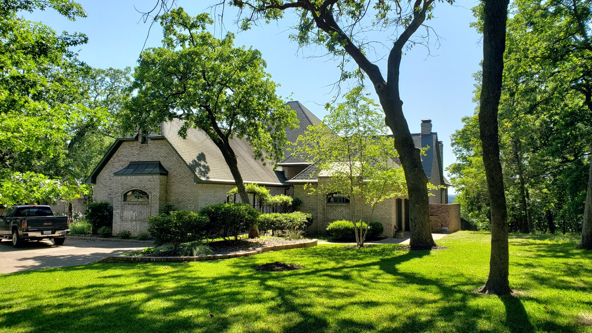 LUXURY GOLF COURSE HOME FOR SALE EAST TX   LAKE PALESTINE