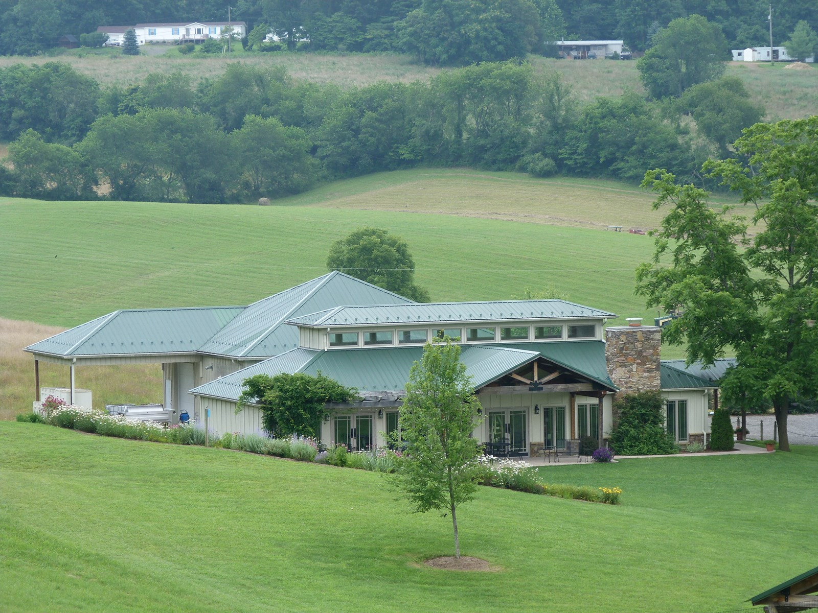 Blue Ridge Mountains, VA- West Wind Farm and Winery for sale