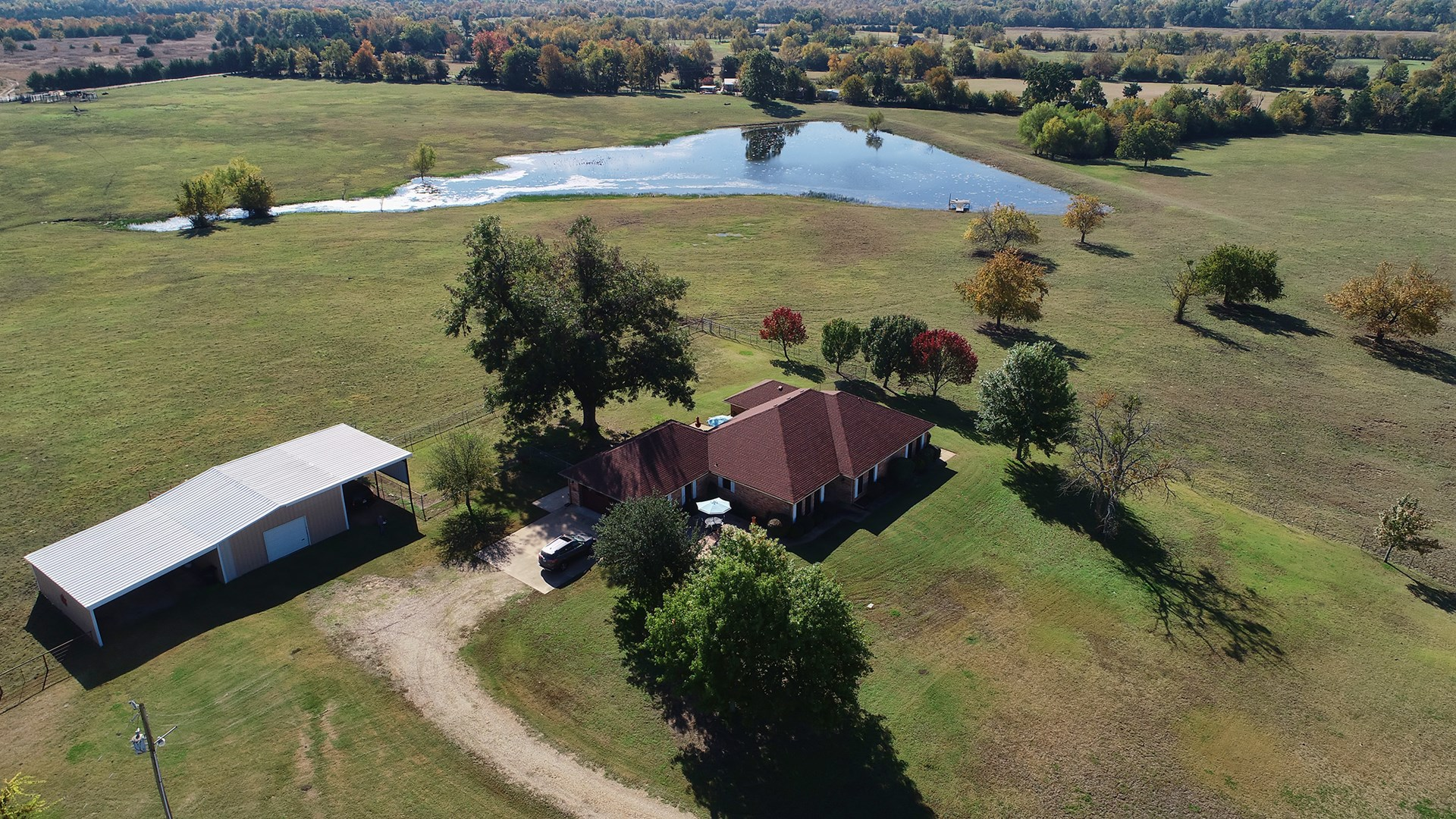 Country Home Ranch Property For Sale Roxton Texas