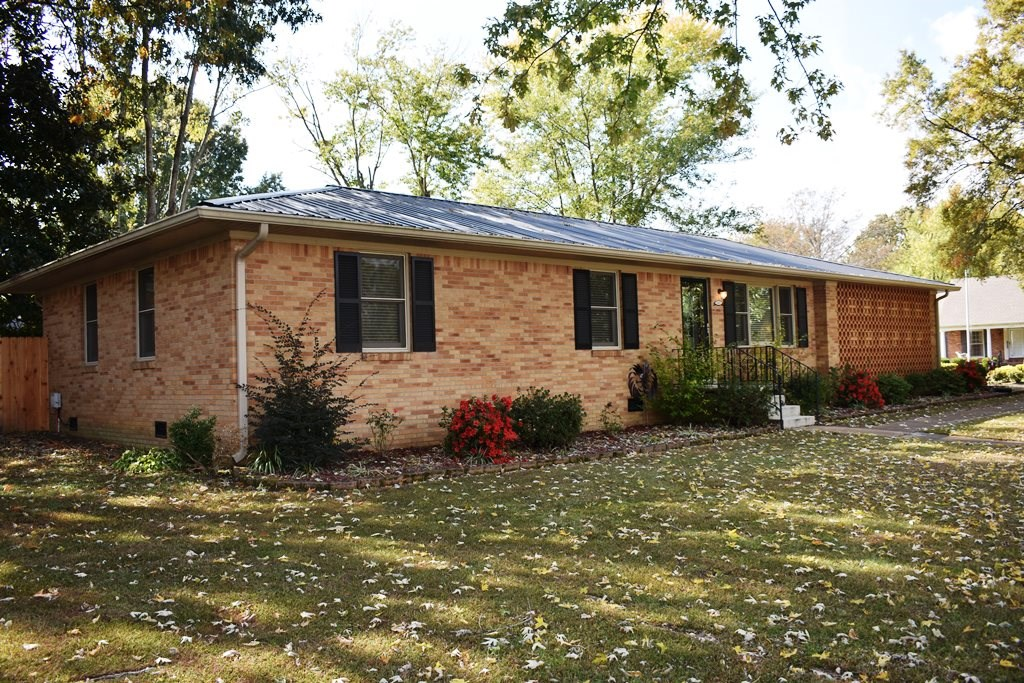 Brick Home For Sale on Corner Lot w/ Fenced Yard - Milan TN
