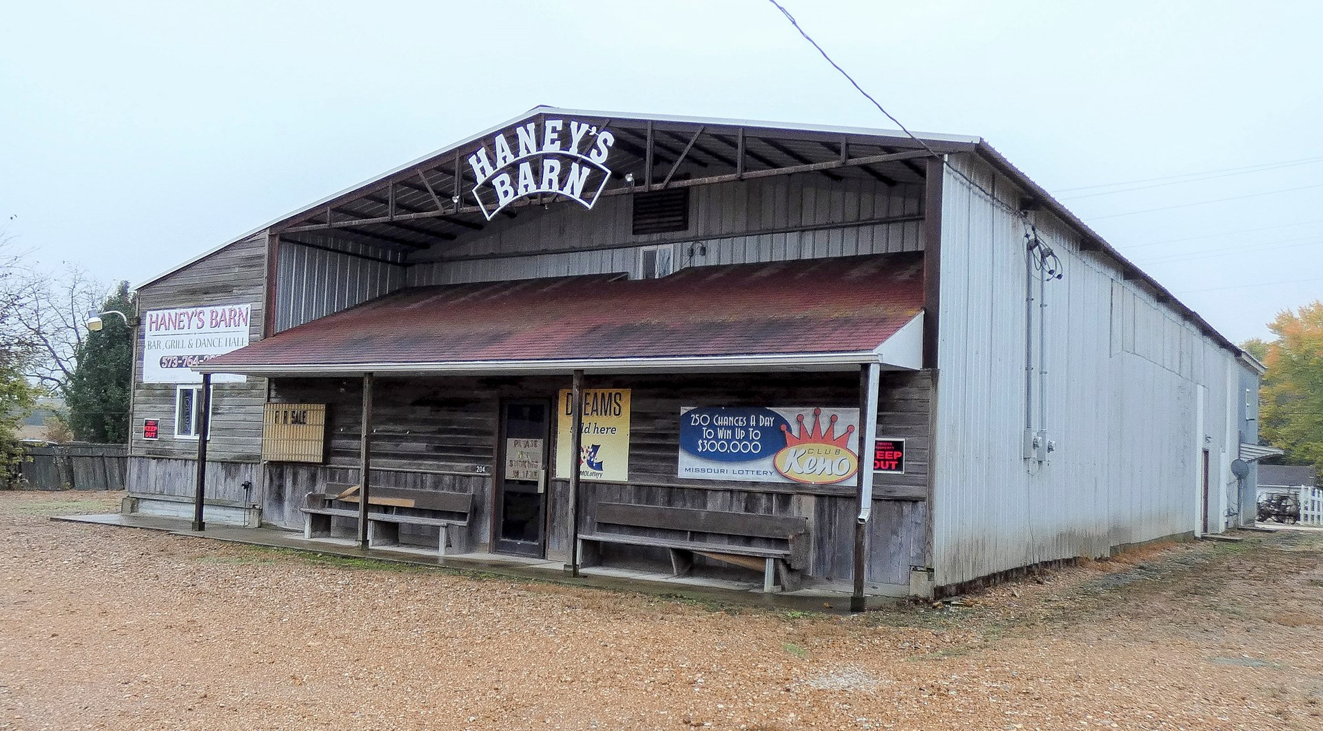 Furnished Bar, Dance Hall, Restaurant For Sale in Rosebud MO