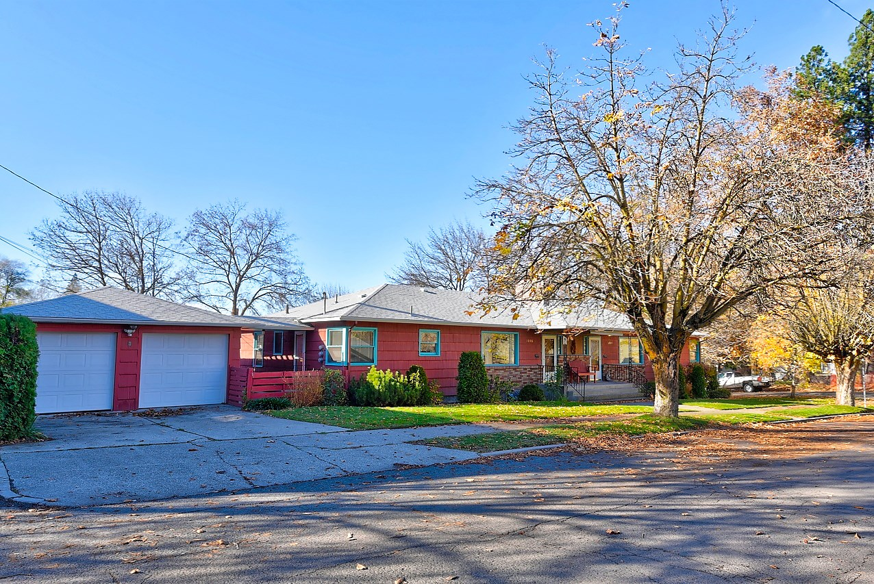 Multi-family, Spokane, Triplex, income property