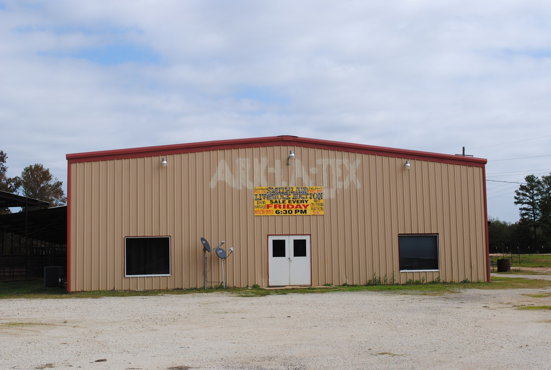 Livestock SaleBarn/Feedlot For Sale Marion County Tx Acreage