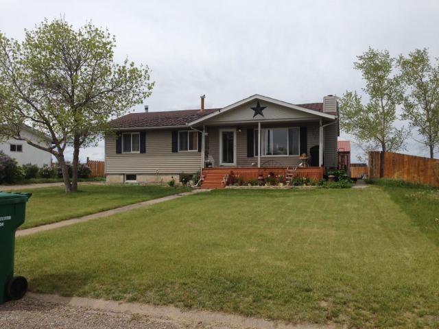 Home For Sale in Montana with large garage. Great Falls Area
