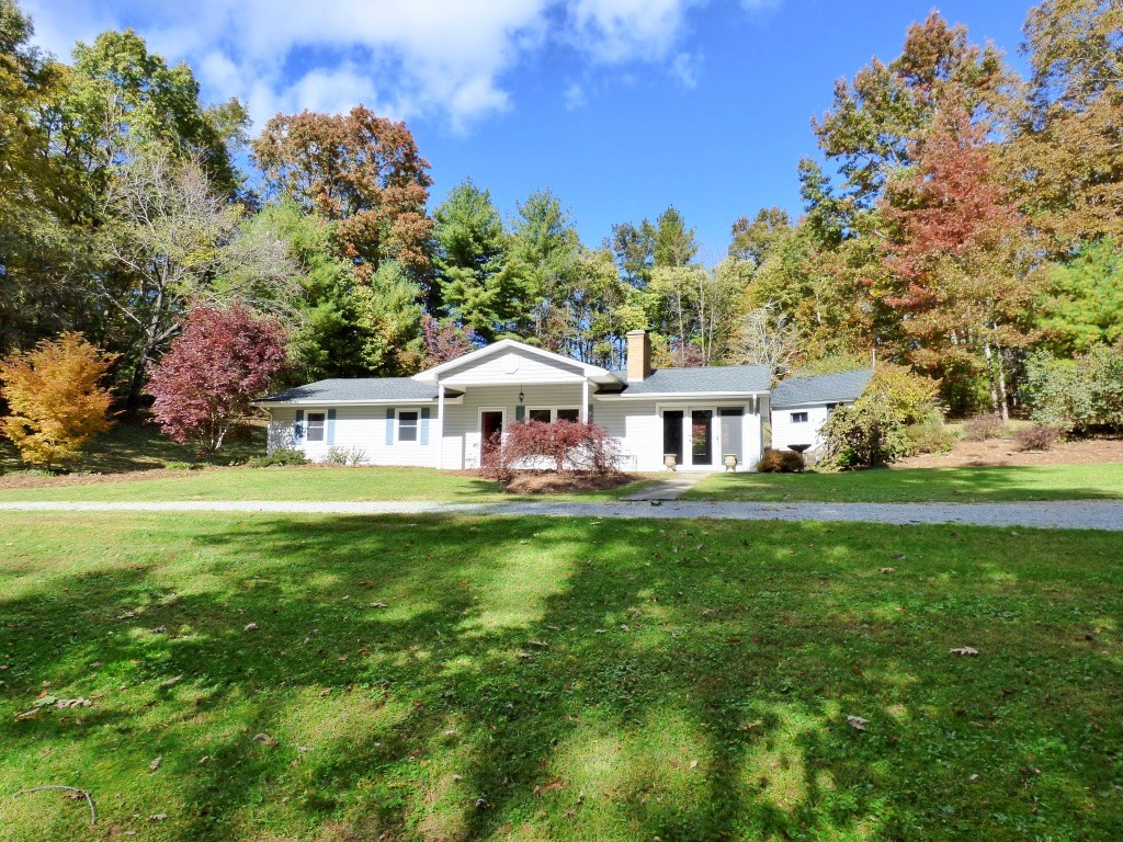 Home with River Frontage Near Town of Floyd VA