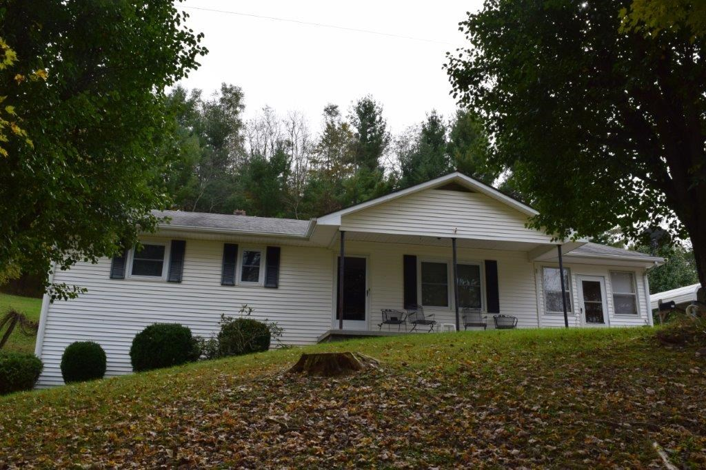 Floyd VA Country Home on Private Acreage for Sale