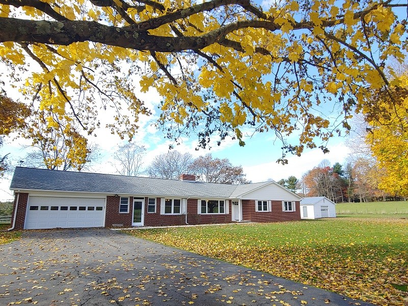 Brick Ranch Home in Floyd VA for Sale