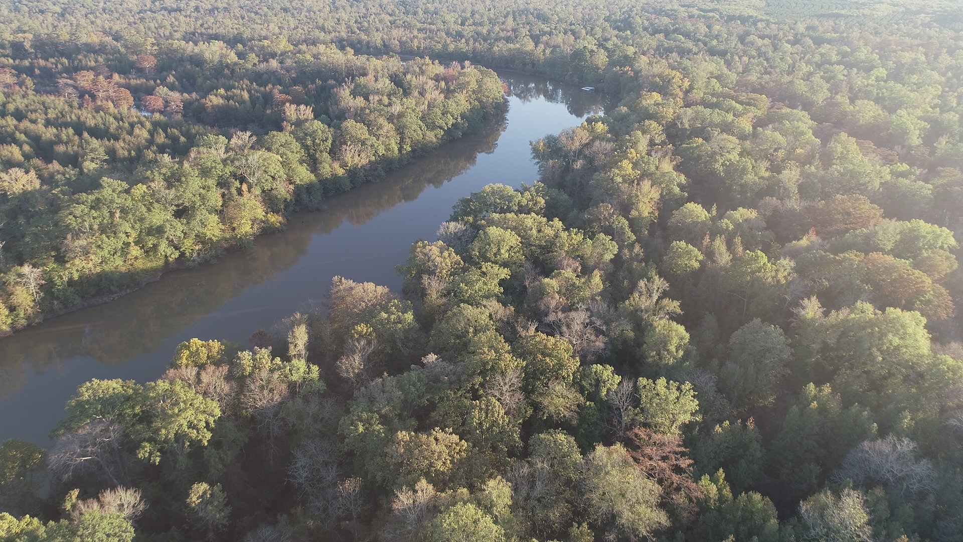 Ouachita River Camp Site Potential w/ Land near Strong, AR