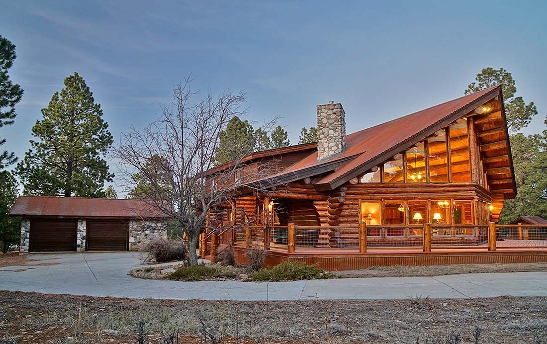 Log Home For Sale Ridgway Colorado Log Hill