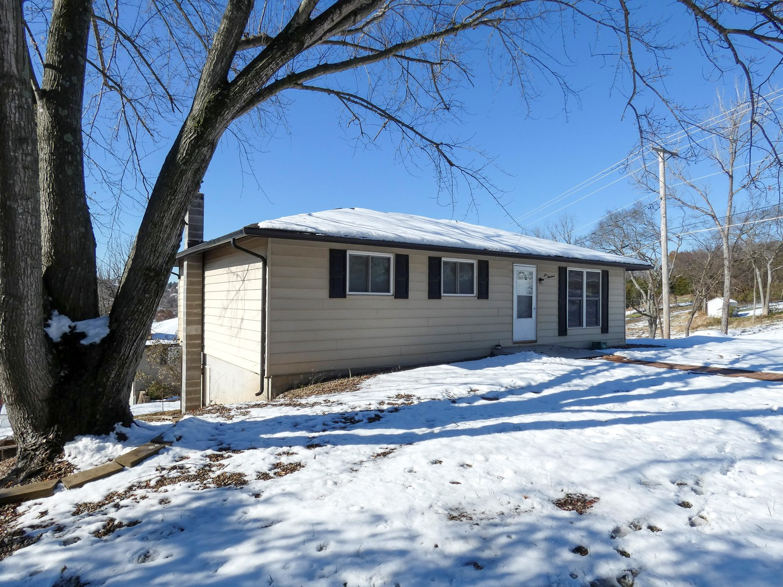 Home with a View For Sale in Hermann, Missouri