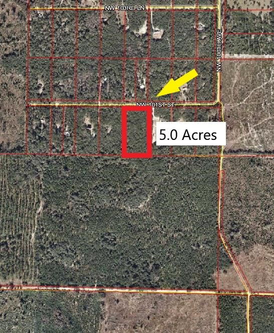 5 ACRES FOR SALE - CHIEFLAND, LEVY COUNTY, FLORIDA