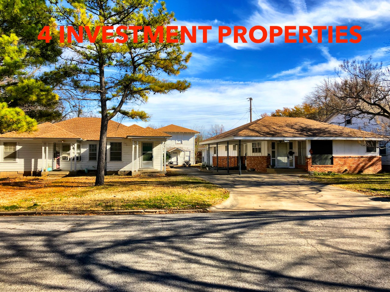 Unique Investor's Package – SW Ardmore- 4 Properties