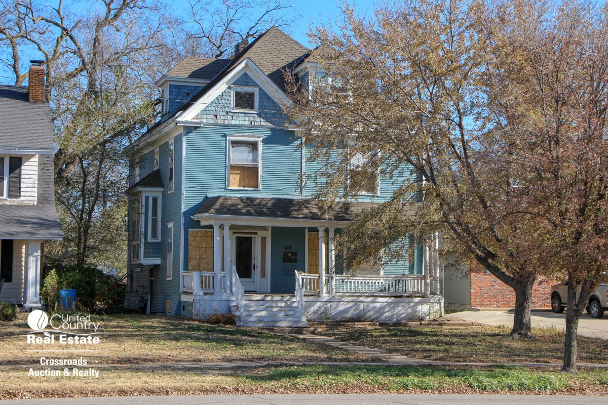 Salina Kansas Residential Rental Property Online Only Auction