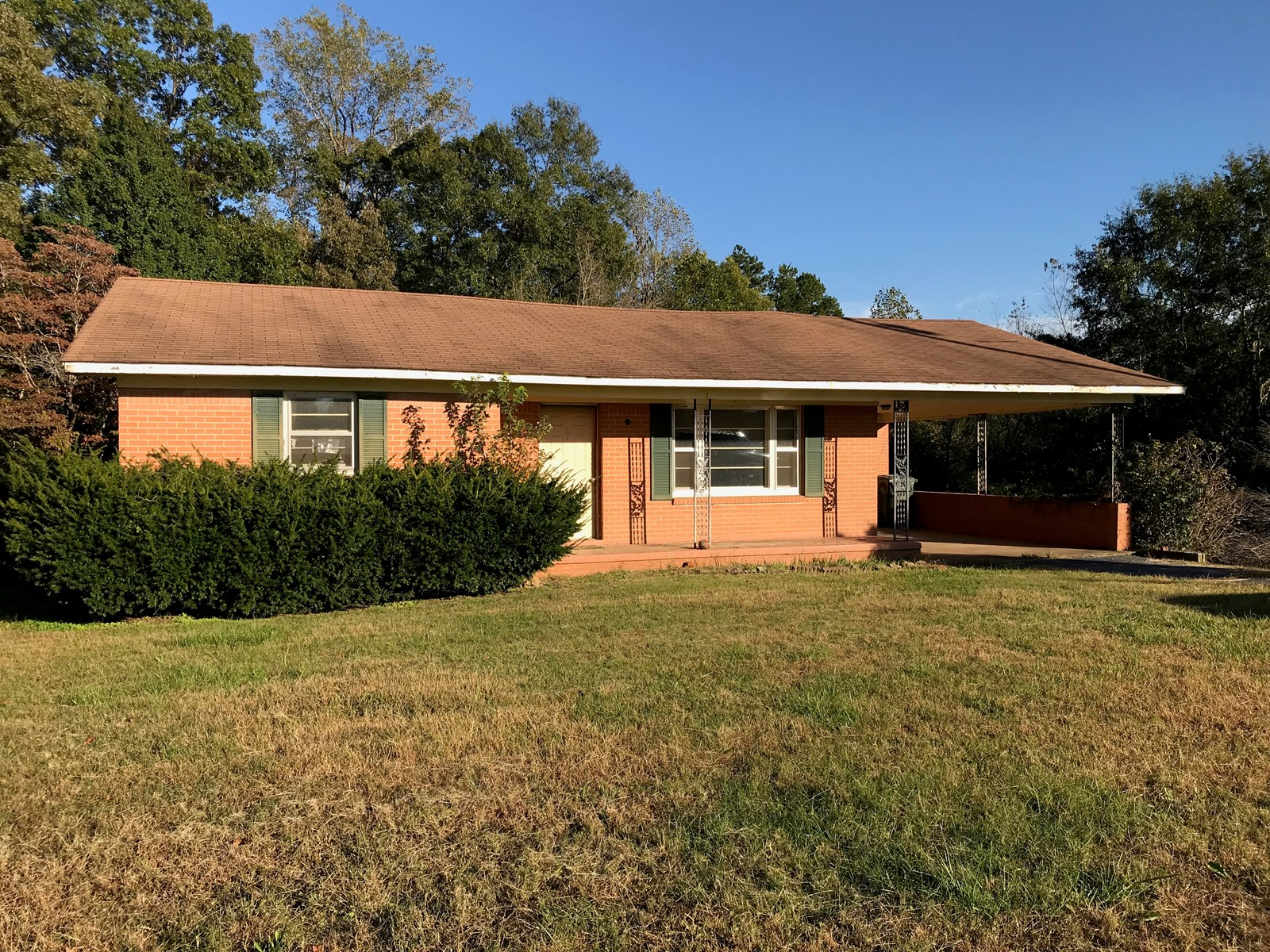 Carroll County Tennessee Home For Sale, Brick Home