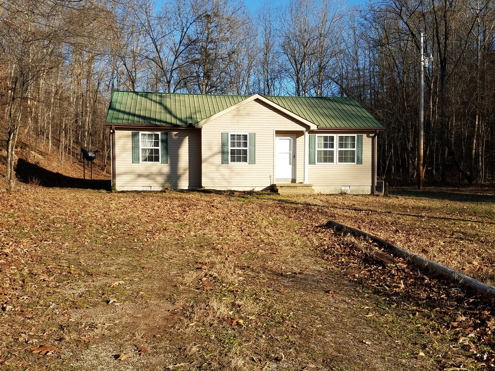 Country Home w/Acreage in TN.