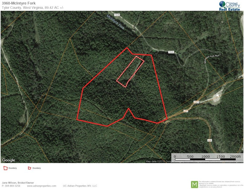 89.42 ACRES OF WV HUNTING LAND