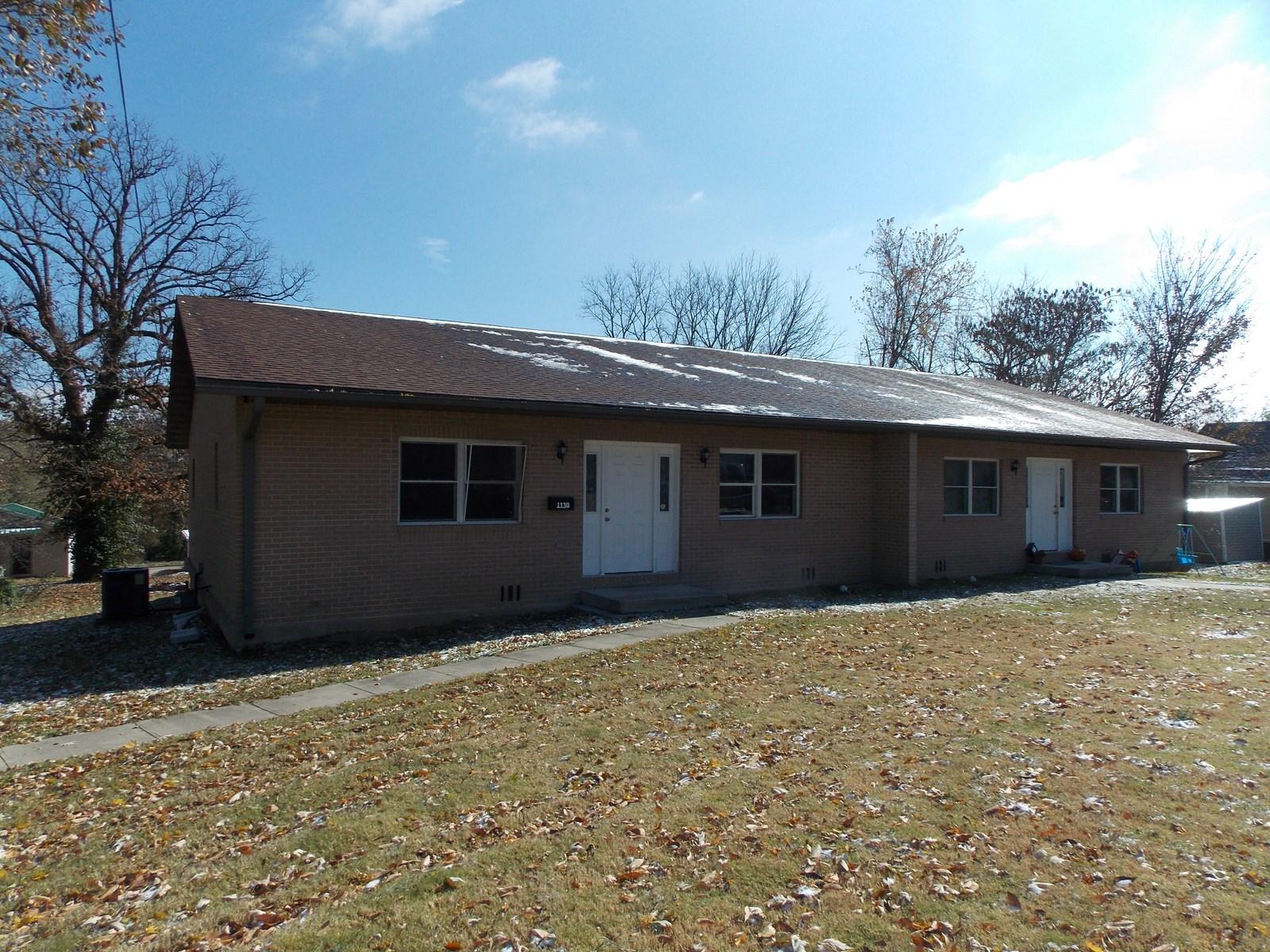 Brick Duplex for sale in West Plains Missouri