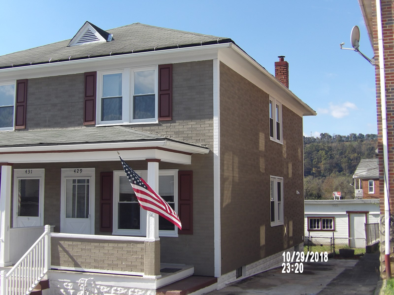 Cumberland MD Renovated Duplex For Sale