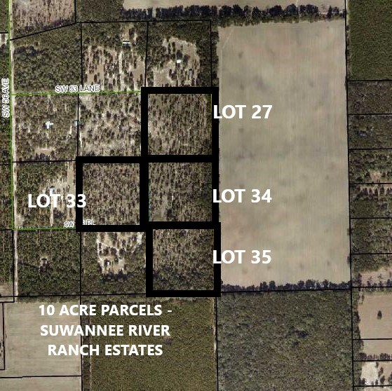 LAND FOR SALE 10 AC. IN GILCHRIST COUNTY - TRENTON, FL