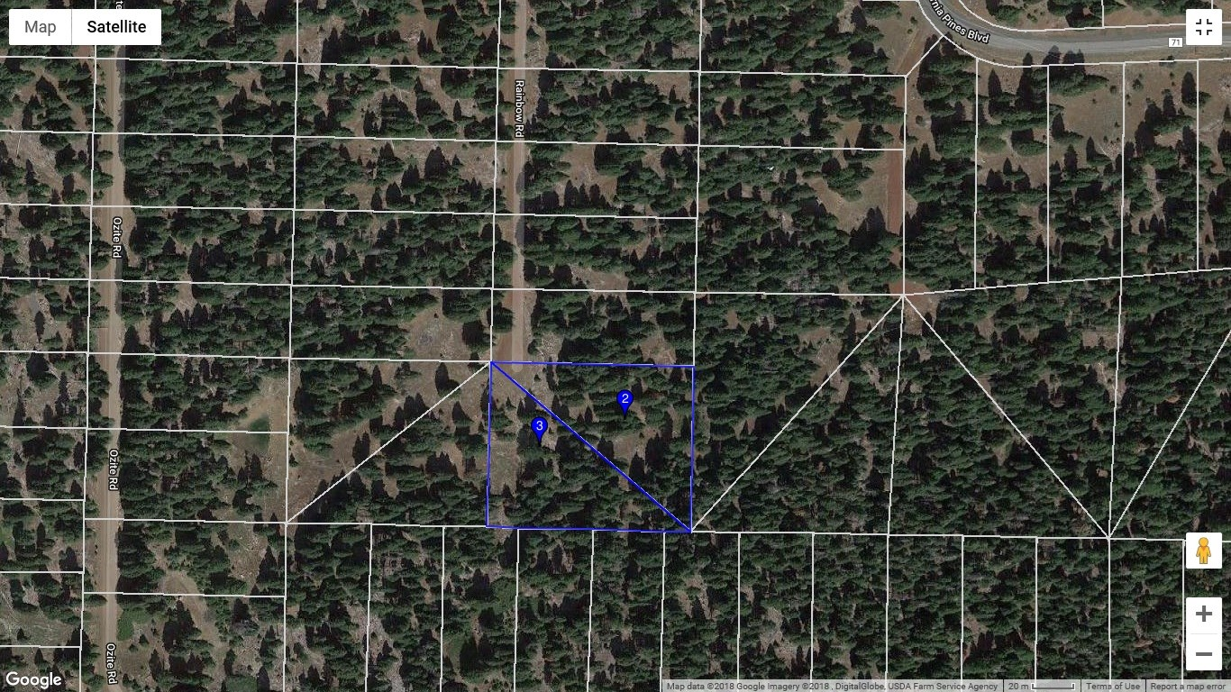 Over 2 acres in the Pines of Modoc County, Northern CA