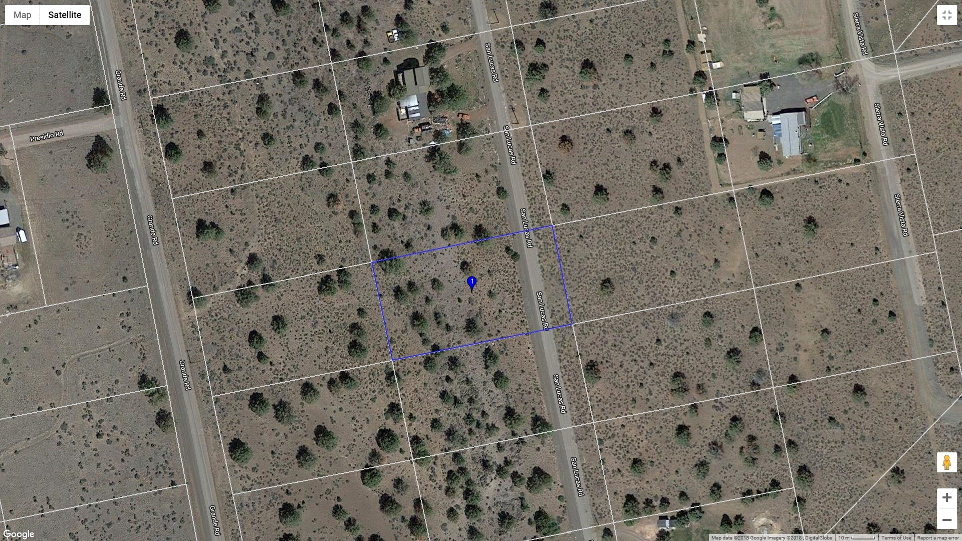 .91 acre lot for sale in Modoc County, Northern California
